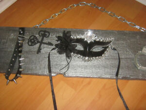 Very edgy 50 Shades of Grey inspired wall hanging