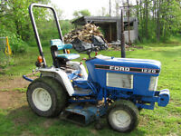 Ford 1220 Diesel 4x4 Tractor