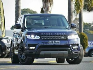 2015 Land Rover Range Rover Sport L494 16MY SE Blue Sports Automatic Wagon