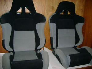 NEW - RACING SEATS FOR SALE - MINT - (FOR CAR/TRUCK)