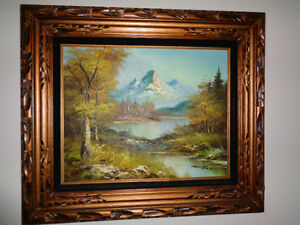 Original G. Whitman Oil Painting