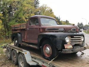 1950 ford 3/4 ton.  Truck. Complete