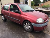 2000 RENAULT CLIO 1.4 PETROL BARGAIN PART EXCHANGE TO GO