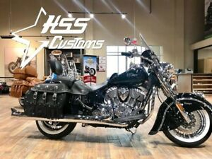 2018 Indian Motorcycle Chief Vintage ABS Thunder Black