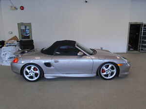 2002 PORSCHE BOXSTER S 270HP! 6 SPEED! 106,000KMS! ONLY $16,900!