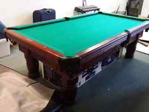 High End Pool table with all accessories. New.