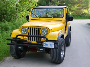PRICE LOWERED!!!! 1979 CJ7 304V8 3 SPD Manual