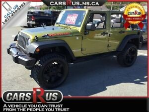 2010 Jeep Wrangler Unlimited 4x4 Mountain     NO TAX sale on now