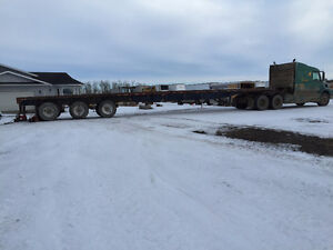 FLATBED FOR HIRE Strathcona County Edmonton Area image 1