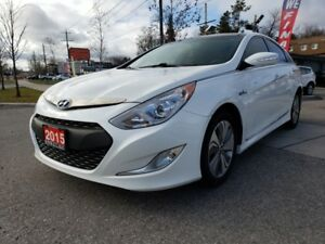 2015 Hyundai Sonata Hybrid Limited Pano Roof|Camera|Bluetooth