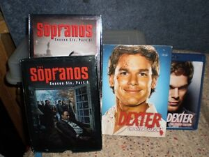 SOPRANOS AND DEXTER SEASONS $20 EACH.