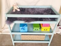 Shabby chic baby changing table
