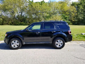 2010 Ford Escape XLT AWD, V6 3.0, Sunroof, + Winter Tires