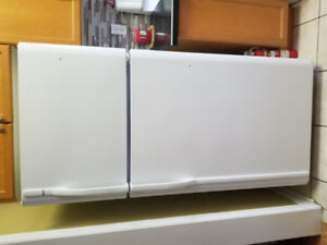 Home Appliances - White Canopy Hood and Dishwasher