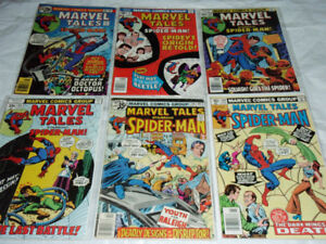 Marvel Tales Comic Book Bundle