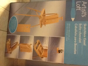 Never used new floor easel