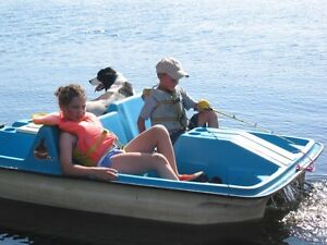 Four Person Paddle Boat
