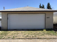 Heated Double garage (Storage/Parking) for Rent