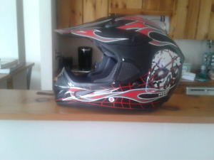 Men's motorcycle helmet