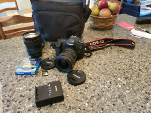 Canon 6D + 24-105mm f4.0 + 16-35mm + SD xs 64gb