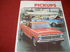 1975 Ford Pickups sales brochure