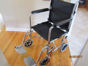 Wheelchair/transport chair, chaise roulante ou de transport,AMG