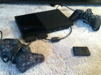 Playstation 2 with 25 games