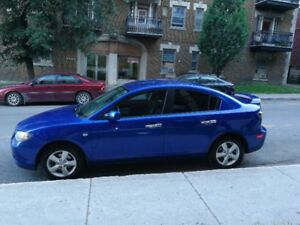 2008 MADZA 3 GS BLUE (MANUAL, 2L)