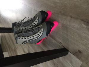 Women's Size 10 Molded Skates