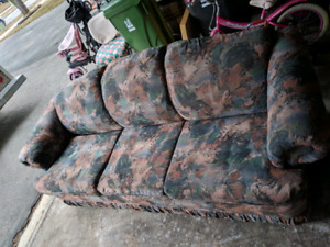 Free pullout couch and love seat