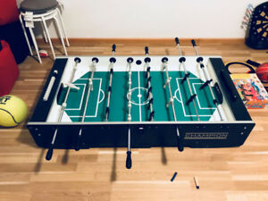 Foosball table - Garlando Champion - full size, pro entry level