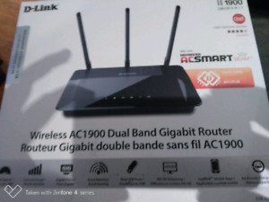 D link ac1900 wireless router brand new