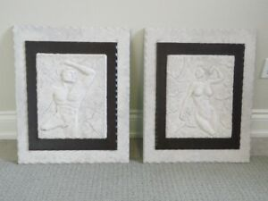 Wall Art: Incent Greek / Roman Themes Gypsum Moldings
