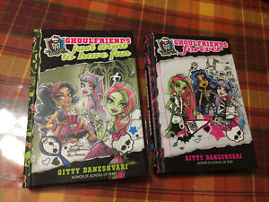 Ghoulfriends Hardcover Book 1 & 2