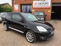 2005(55) Ford Fiesta ST 2.0 16v Black 3dr Sports Hatch, **ANY PX WELCOME**