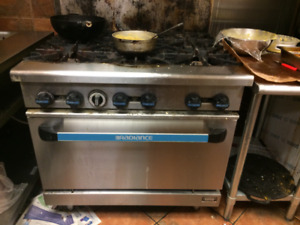 Commercial 6 Burner Stove Reliance