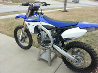 mint yamaha yzf450 2012 with ownership low hours