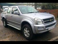 ISUZU D-MAX 3.0 TD DC Pick up 4WD Silver Manual Diesel, 2007