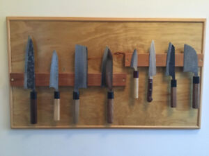 Beautiful Handcrafted Japanese Chef's Knives