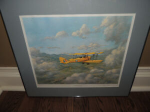 C. G. Pattle de Havilland Tiger Moth Signed/numbered Print