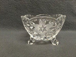 Collectible Antique Beautiful Crystal Candy Dish London Ontario image 1