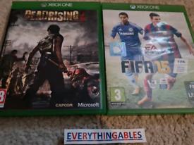2 Microsoft xbox one Games Bundle fifa deadrising 3