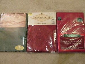 Extra Large Tablecloth NEW in PACKAGE ,RED