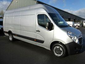 2012 Vauxhall Movano 2.3 CDTI 16v 125ps L4H3 XLWB 3500 DRW Euro 5, VERY TIDY