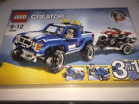 Lego Creator 5893 - 3 in 1 Off Road Truck Brand New