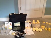Medela Pump In Style Advanced Breast Pump + Extras