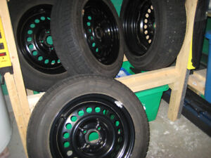 Winter Tires and Rims (Used only 1 winter!)