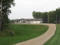 3296 Sqft home w/ 145 acres of Organic Farm Land