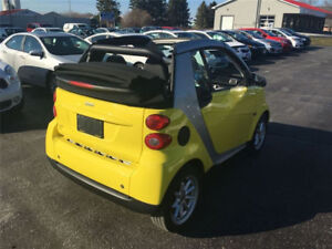 """2008 Convertable SMART FORTWO PASSION CABRIOLET """"Low KM"""""""