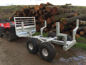 ATV Wood trailer